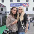 Grand Prix de Silverstone, le 21 juin 2009 : Tamara et Petra Ecclestone