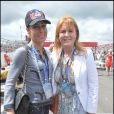 Grand Prix de Silverstone, le 21 juin 2009 : Tara Palmer Tomkinson et Sarah Ferguson