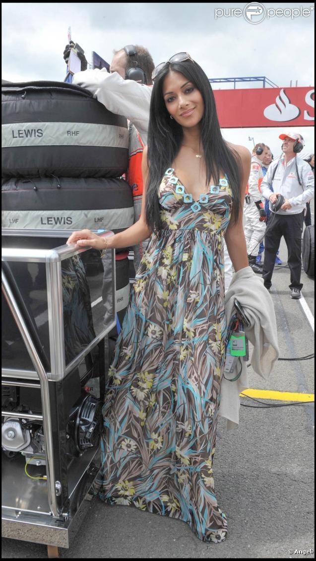 Grand Prix de Silverstone, le 21 juin 2009 : Nicole Scherzinger