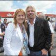 Grand Prix de Silverstone, le 21 juin 2009 : Sarah Ferguson et Richard Branson