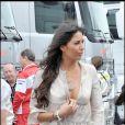 Grand Prix de Silverstone, le 21 juin 2009 : Elisabetta Gregoraci