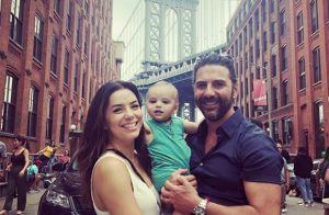 Eva Longoria : Craquante photo avec Santiago et José pour la fête des Pères