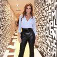 Malika Ménard assiste à la soirée de lancement de la collection LGP de Longchamp au grand magasin Galeries Lafayette Champs-Élysées. Paris, le 14 mai 2019.