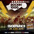 """Philippe Manoeuvre présente le show """"Rockin' 1000"""" du 29 juin au Stade de France sur le plateau de """"Quotidien"""", le 12 févier 2019."""