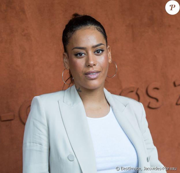 Amel Bent dans le village des internationaux de France de tennis de Roland Garros à Paris, France, le 6 juin 2019. © Jacovides-Moreau/Bestimage