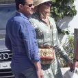 Exclusif - Manuel Valls et sa fiancée Susana Gallardo sont allés dîner au restaurant où ils se sont rencontrés il y a 1 an à Marbella. Le couple a célébré l'anniversaire de leur rencontre. L'ancien Premier ministre et sa compagne Susana Gallardo ont décidé de se marier très prochainement. Le 9 juin 2019