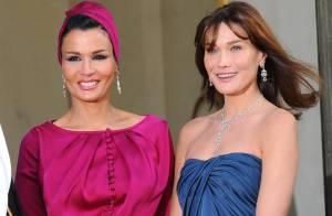 Carla Bruni et la première dame du Qatar : un duo de charme étourdissant et... éblouissant !