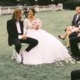 """Maxime et Alizée de """"Pékin Express"""", le jour de leur mariage le 22 juin 2019."""