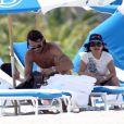 Paolo Maldini, en vacances en famille sur une plage ensoleillée de Miami, le 22 juin 2009 !