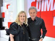Hélène Darroze en robe noire bouffante face à Guy Lagache et Jeanfi Janssens