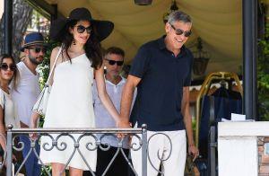 George Clooney et Amal : Complices et chic pour une balade à Venise