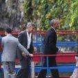Barack Obama et sa femme Michelle, et George Clooney et sa femme Amal sont allés dîner au restaurant Villa d'Este au Lac de Côme. L'ancien président des Etats-Unis poursuit ses vacances européennes en famille en Italie. Le 23 juin 2019