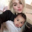 Tristan Thompson sur Instagram- Message du sportif pour le 35e anniversaire de Khloé Kardashian, le 27 juin 2019.