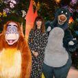 Caroline de Maigret au green carpet du Festival du Roi Lion et de la Jungle à Disneyland Paris. Marne-la-Vallée, le 29 juin 2019. © Christophe Clovis