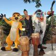 """Noémie Lenoir au photocall du """"Roi Lion"""" dans le cadre du Festival du Roi Lion et de la Jungle à Disneyland Paris. Marne-la-Vallée, le 29 juin 2019. © Christophe Clovis"""