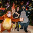 Arnaud Ducret et sa compagne Claire Francisci au green carpet du Festival du Roi Lion et de la Jungle à Disneyland Paris. Marne-la-Vallée, le 29 juin 2019. © Christophe Clovis