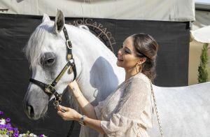 Nabilla enceinte : avec Thomas, elle affronte sa peur des chevaux
