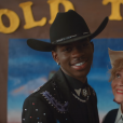 "Lil Nas X dans le clip ""Old Town Road""- Avril 2019."