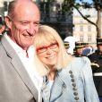 Mireille Darc et son mari Pascal Desprez au Gala de la fondation IFRAD le 22 juin