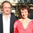 Anne Roumanoff et son mari Philippe Vaillant au Gala de la fondation IFRAD le 22 juin