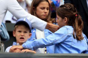 Roger Federer en famille à Wimbledon : chamailleries des enfants en tribunes
