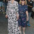 Nicky Hilton Rothschild et sa mère Kathy Hilton arrivent au défilé Haute Couture Valentino collection Automne-Hiver 2019/20 à l'hôtel Salomon de Rothschild à Paris, France, le 3 juillet 2019. © Veeren-Clovis/Bestimage