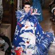 """Défilé Valentino """"Collection Haute Couture Automne/Hiver 2019-2020"""" lors de la Fashion Week de Paris (PFW), le 3 juillet 2019."""