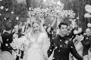 Mariage de Joe Jonas et Sophie Turner : découvrez la superbe robe de l'actrice