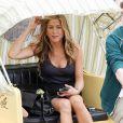 """Jennifer Aniston sur le tournage de """"Bounty Hunter"""", à Atlantic City, le 24 juin 2009 !"""