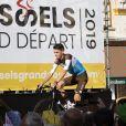 Romain Bardet lors de la présentation des équipes du Tour de France 2019 le 4 juillet à Bruxelles.