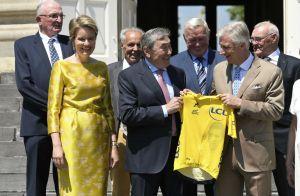 Mathilde de Belgique: La reine en mode maillot jaune pour Eddy Merckx et le Tour