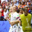 Joie Megan Rapinoe (USA) et équipe - Finale de la coupe du monde féminine de football, USA vs Pays Bas à Lyon le 7 juillet 2019. Les Etats-Unis ont remporté la finale sur le score de 2 à 0. © Gwendoline Le Goff/Panoramic/Bestimage
