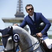 Guillaume Canet et Mary-Kate Olsen, cavaliers stars à Paris