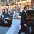 Lady Gabriella Windsor et Thomas Kingston - Exclusif - Les célébrités arrivent au diner après avoir assisté au mariage de Lady G. Windsor et T. Kingston dans la chapelle Saint-Georges du château de Windsor, le 19 mai 2019.