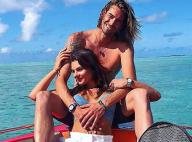 Camille Lacourt en couple avec Alice : séance photo torride à l'île Maurice