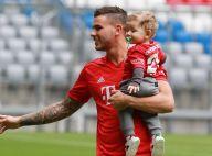 Lucas Hernandez : Avec son fils et sa compagne pour sa présentation au Bayern