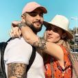 """Jesta et Benoït de """"Koh-Lanta"""" en amoureux à Dubaï - Instagram, 9 février 2019"""