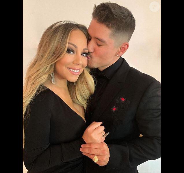 Mariah Carey et Bryan Tanaka à la soirée Chopard Love Night. Cannes, le 17 mai 2019.