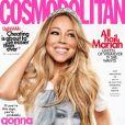 Mariah Carey en couverture du magazine Cosmopolitan. Numéro d'août 2019.