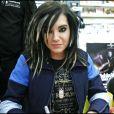 Le groupe Tokio Hotel à la Fnac de Milan, le 30 novembre 2007.
