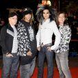 Tokio Hotel- Montée des marches de la cérémonie des NRJ Music Awards, le 26 janvier 2008.