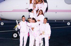 Kylie Jenner entièrement nue pour un voyage entre filles, avec sa petite Stormi