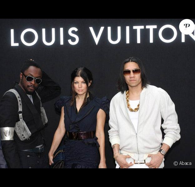 Les Black Eyed Peas au défilé Louis Vuitton, au 104. 25/06/09