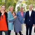 Exclusif - Delphine Ernotte, Sophie Cluzel avec sa fille julia et son mari Bruno, Franck Riester - Concert de Paris sur le Champ de Mars à l'occasion de la Fête Nationale à Paris le 14 juillet 2019. © Gorassini-Perusseau-Ramsamy/Bestimage