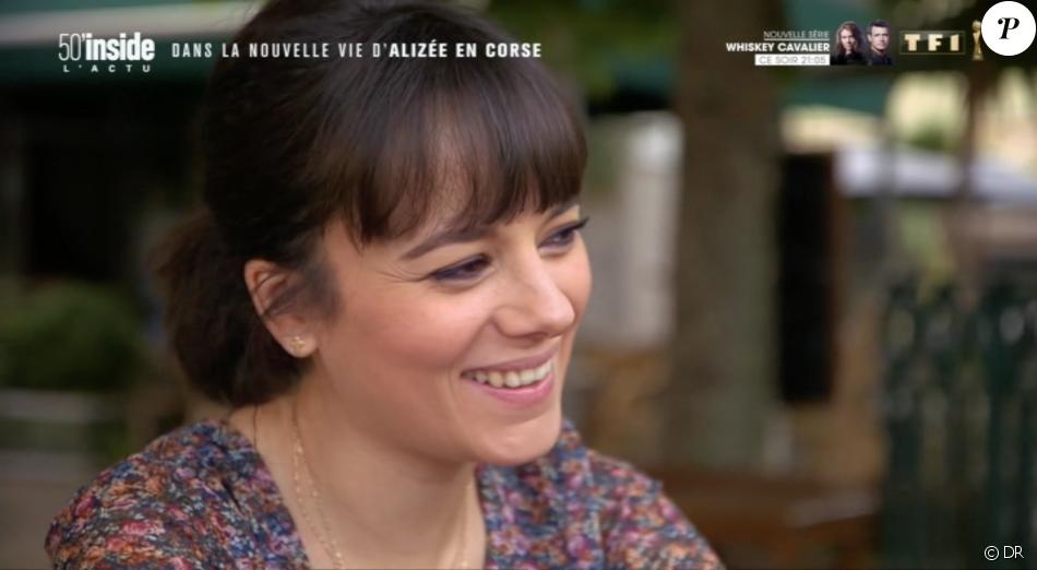 """Alizée et Grégoire Lyonnet se confient dans """"50' Inside"""", samedi 29 juin 2019 sur TF1."""