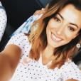 Rachel Legrain-Trapani profite de ses vacances au Portugal avec son fils Gianni, en juillet 2019.