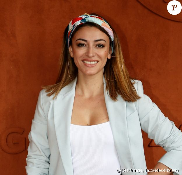 Rachel Legrain-Trapani (Miss France 2007) - Les célébrités dans le village des Internationaux de France de Tennis de Roland Garros 2019 à Paris, France, le 29 mai 2019 © Jacovides-Moreau/Bestimage