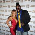 Tila Tequila et un ami rigolo lors du 22e gala annuel Rhythm & Soul Music Awards à Los Angeles le 26 juin 2009