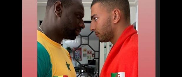 M. Pokora et Omar Sy: La finale Sénégal-Algérie avec l'ex de Kourtney Kardashian