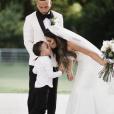 Selena Gomez demoiselle d'honneur noire lors du mariage de sa cousine le 19 juillet 2019.
